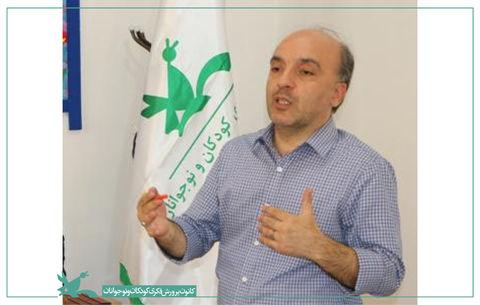 سهیل مطیعا دبیر انجمن سرود کانون
