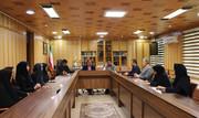 دیدار مدیر کل کانون و مسوولان مراکز رشت با فرماندار
