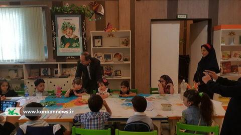 بازدید مدیر کل کانون تهران از مرکز فرهنگی هنری نسیم شهر