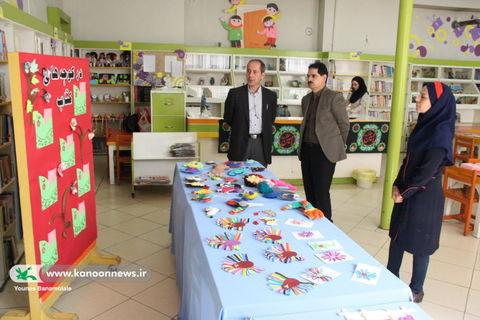 بازدید مدیر کل کانون تهران از مرکز فرهنگی هنری شماره 12/ عکس از یونس بنامولایی