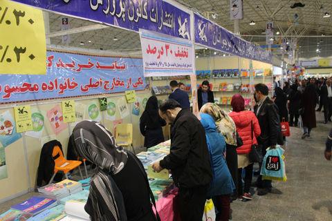 حضور کانون در شانزدهمین نمایشگاه بینالمللی کتاب تبریز