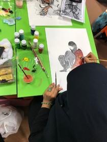 کارگاه تصویرگری پیمان رحیمی زاده در اهواز