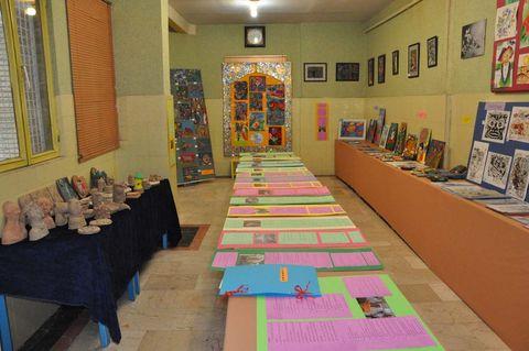 نمایشگاه آثار اعضا در مرکز هشتگرد کرج