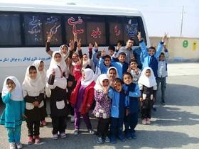 بهرهمندی ۲۲۰۰ کودک و نوجوان از کتابخانه سیار روستایی گرمسار