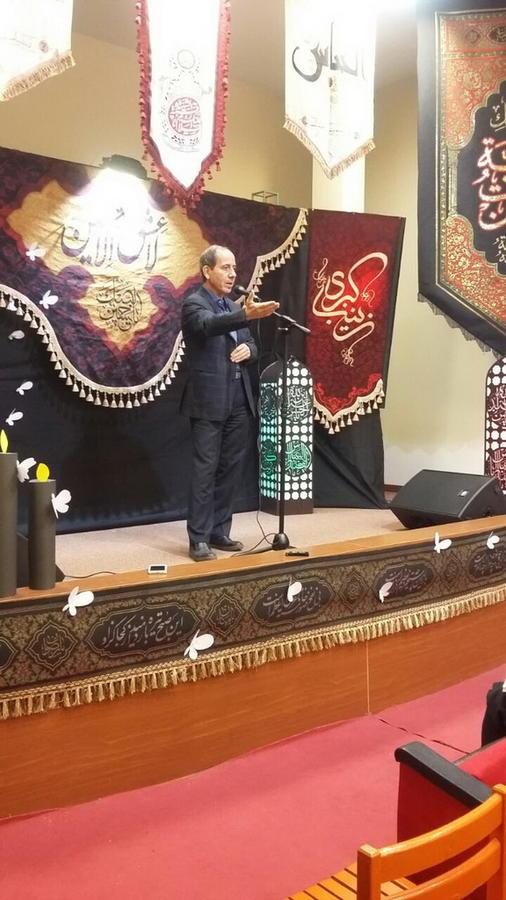 سوگواره « نیکنامان کربلا» در کانون۳۱ تهران برگزار شد