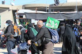 موکب فرهنگیهنری بیتالرقیه در اربعین حسینی