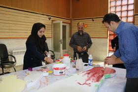 گوشه ای از تلاش همکاران استان مرکزی در استقبال از جشنواره قصه گویی