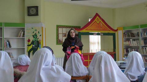 استقبال دانش آموزان از فعالیتهای کتابخوانی مرکز مجتمع کرج
