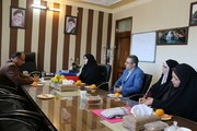 دیدار مدیر کل کانون فارس با فرماندار شهرستان داراب