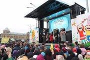 آیین رونمایی از تریلی سیار تئاتر و سینمای کانون در همدان