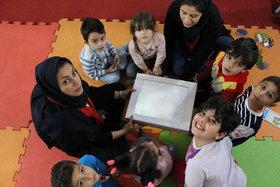 حضور پرشور کودکان در چهارمین نمایشگاه ملی اسباب بازی کانون