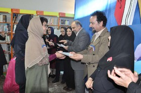 تجلیل از اعضا کتابخوان استان البرز و ویژه برنامه کتابخوانی در مرکز ۳کرج