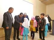 احمدی فرماندار و فرجزاده شهردار هادی شهر در جشن کتاب کانون شهرستان