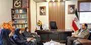 دیدار مدیرکل کانون استان قزوین با فرماندار و رییس آموزش و پرورش بویین زهرا