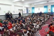 برپایی جشن شادی در مدرسه با مشارکت کانون شاهرود