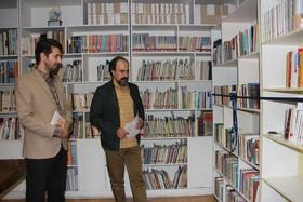 کتابخانه انجمن ادبی آفتاب افتتاح شد