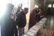 دستنوشتههای اعضای کانون میامی در نمایشگاه نماز