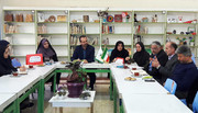 نشست مسوولان کانون و آموزش و پرورش استان گیلان