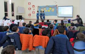 گزارش فعالیتهای هفته کتاب و کتابخوانی مراکز فرهنگی هنری کانون استان اردبیل