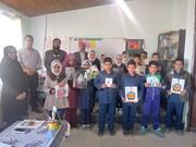 اهدای کتاب به مدرسه باریکاب