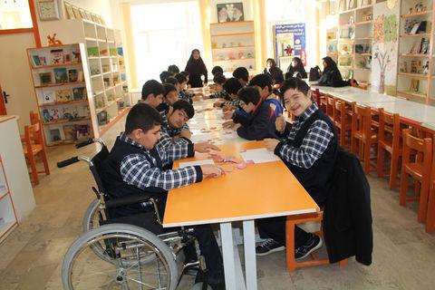 گرامیداشت روز معلولین در مرکز شماره 1 فراگیر کانون تبریز و هشترود