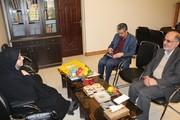 دیدار مدیر کل کانون فارس با رییس بنیاد نخبگان