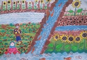 موفقیت اعضای کانون کهگیلویه و بویراحمد در جشنواره نقاشی آب