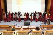 سیزدهمین جشنواره سرود خوانی کانون تهران/ عکس از یونس بنامولایی
