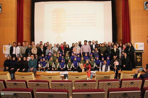 سیزدهمین جشنواره سرود خوانی کانون تهران/ عکس از ریحانه غلام حسین نژاد