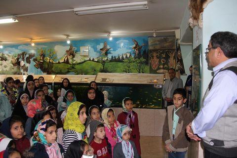بازدید اعضای کانون از موزه علوم طبیعی