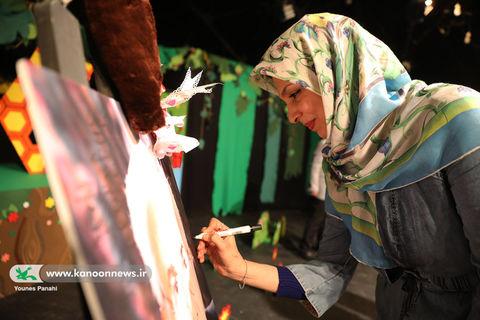 تجلیل از مازیار بازیاران در مرکز تئاترکانون