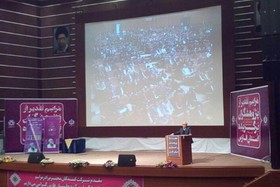 مربی کانون فارس در جمع پژوهشگران برتر استانی