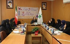 نشست کارشناسان ادبی منطقه ۵ کانون پرورش فکری کشور در گلستان