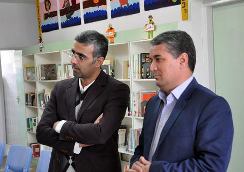 بازدید رییس کانون زبان ایران از کانون استان اردبیل