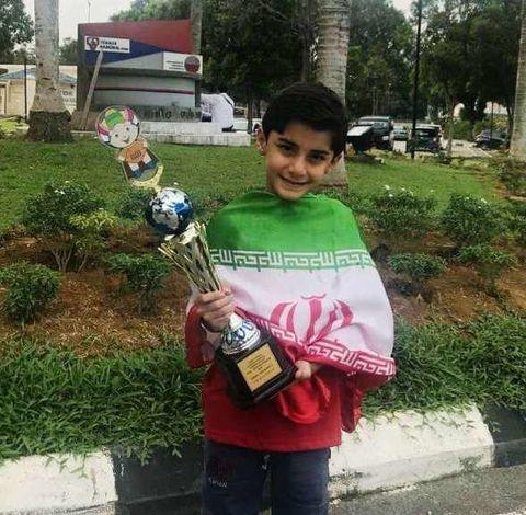 کسب رتبه دوم جهانی در مسابقات محاسبات ذهنی