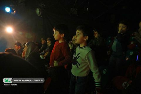 اجرای نمایش راز گنجور در مرکز تئاتر کانون