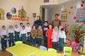 گزارش تصویری حضور شاعر شعرهای کودکانه در مدارس شیراز