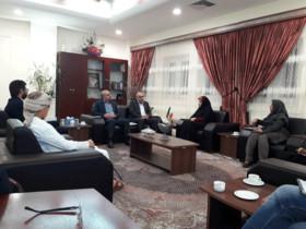 دیدار مدیرکل کانون استان با مدیرعامل پارس جنوبی