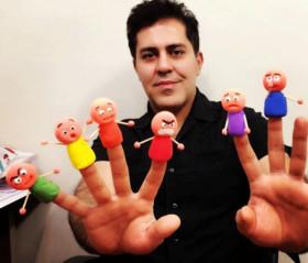 کارگاه آموزشی « ساخت عروسک های نمایشی-2» بوشهر