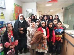 استقبال گرم پرستاران بیمارستان حضرت معصومه(س) از ویژهبرنامه مهر سپید کانون استان قم