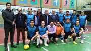 شرکت کارکنان کانون پرورش فکری استان اردبیل در مسابقات فوتسال جام 9 دی