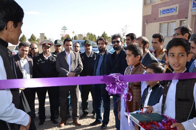افتتاح اولین آسمان نمای دیجیتال کانون پرورش فکری خراسان جنوبی در شهرستان درمیان