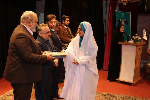 مراسم اختتامیه سومین ویژهبرنامهی «نماز ستون دین» در مجتمع کانون تبریز برگزار شد
