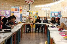انجمن تخصصی هنرهای تجسمی نوجوانان کانون تهران