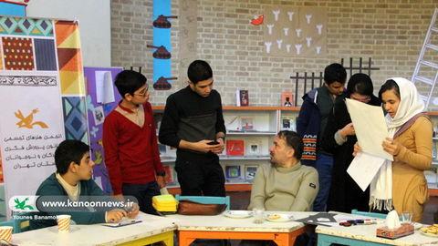 انجمن تخصصی هنرهای تجسمی نوجوانان/ عکس از یونس بنامولایی