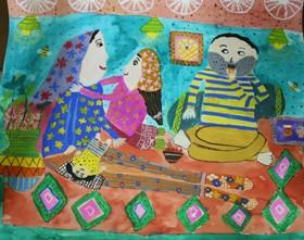 درخشش اعضای کانون فارس در هفتمین دوسالانه هنری کشور