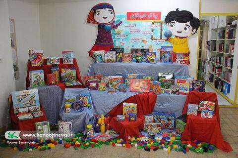 نخستین گام در اجرای طرح ایجاد اتاق بازی و اسباببازی در مدارس/ عکس از یونس بنامولایی