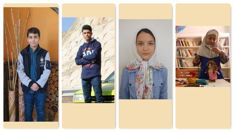 درخشش اعضای کانون قزوین در هفتمین دوسالانه هنرهای تجسمی آفرینش