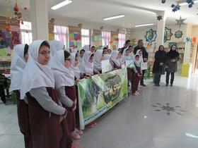 برگزاری مسابقه نقاشی به مناسبت روز هوای پاک در کانون نمین و انگوت