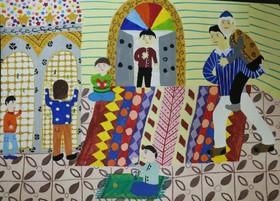 آثار برگزیده اعضای کانون فارس در هفتمین دوسالانه ملی هنرهای تجسمی